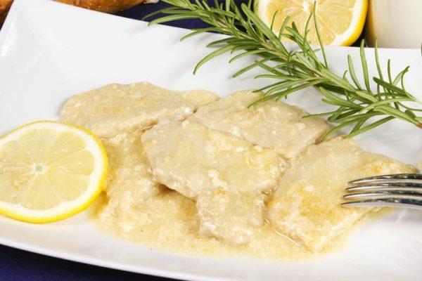 scaloppine al limone