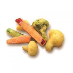verdure miste pastellate